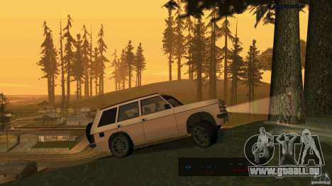 HD Huntley pour GTA San Andreas