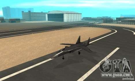 Su-47 berkut Defolt pour GTA San Andreas