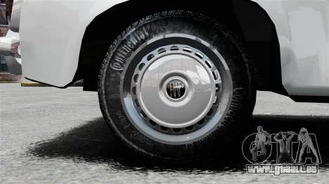 Zastava 750 pour GTA 4 Vue arrière