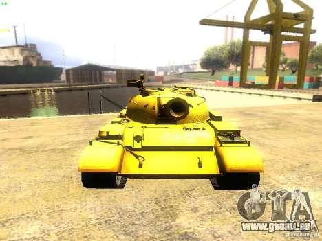 Type 59 v1 pour GTA San Andreas vue arrière