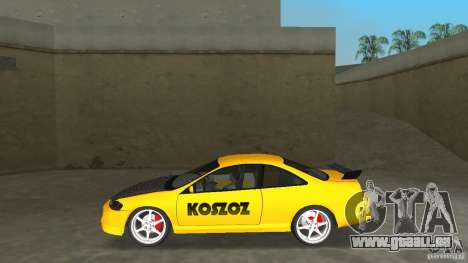 Honda Accord Coupe Tuning pour une vue GTA Vice City de la gauche