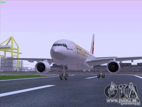 Airbus A330-200 Emirates pour GTA San Andreas