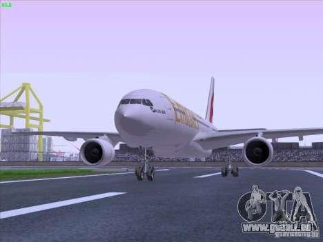 Airbus A330-200 Emirates pour GTA San Andreas