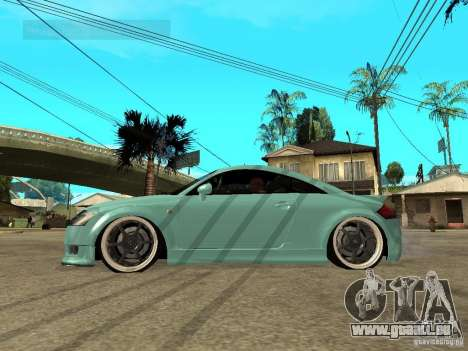 Audi TT für GTA San Andreas linke Ansicht