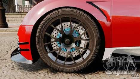 Bugatti Veyron 16.4 Body Kit Final Stock pour GTA 4 est une vue de l'intérieur