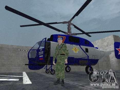 Ka-27 für GTA San Andreas