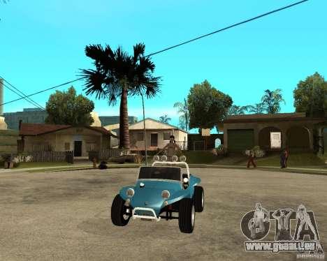 Volkswagen Dune Buggy für GTA San Andreas Rückansicht
