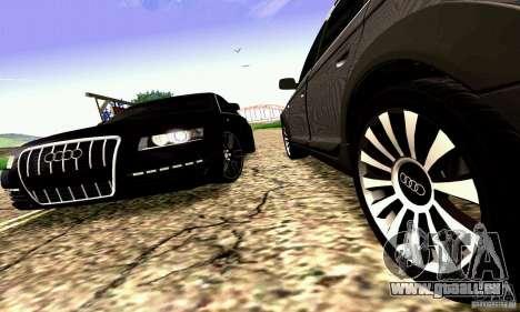 Audi A6 Blackstar für GTA San Andreas
