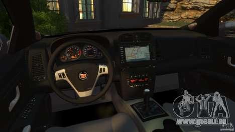 Cadillac CTS-V 2004 pour GTA 4 Vue arrière