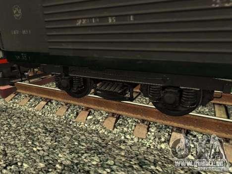 Refrežiratornyj wagon Dessau no 6 pour GTA San Andreas sur la vue arrière gauche
