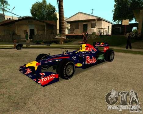 Red Bull RB8 F1 2012 für GTA San Andreas