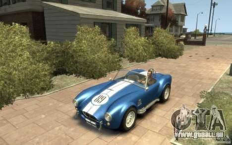Shelby Cobra 427 SC 1965 pour GTA 4