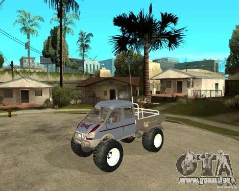 GAS KeržaK (Swamp Buggy) für GTA San Andreas
