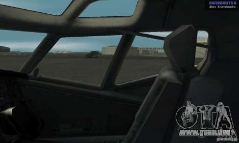 Boeing 737-100 pour GTA San Andreas vue de droite