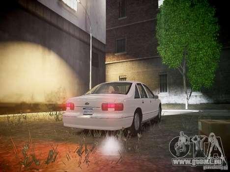 Chevrolet Caprice 1993 Rims 1 für GTA 4 Rückansicht