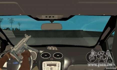 Ford Focus RS für GTA San Andreas rechten Ansicht