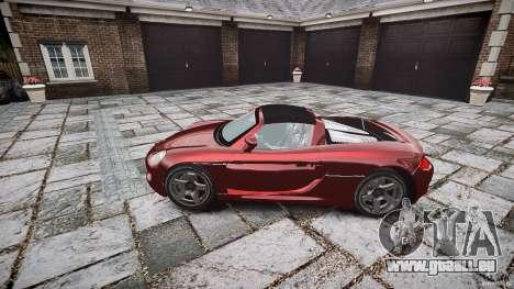 Porsche Carrera GT pour GTA 4 Vue arrière