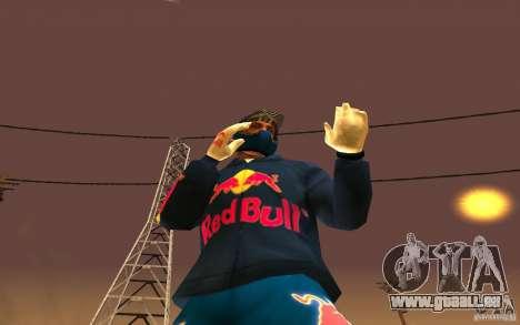 Red Bull Clothes v1.0 für GTA San Andreas sechsten Screenshot