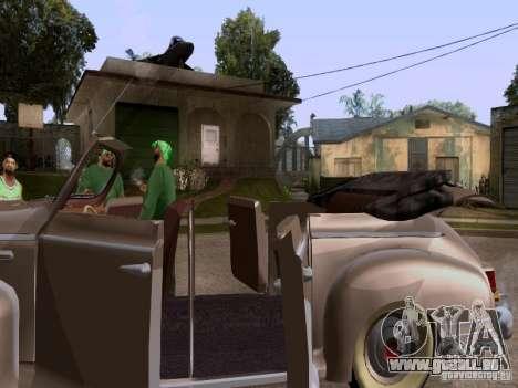 Phaeton ZiS-110 b pour GTA San Andreas vue arrière