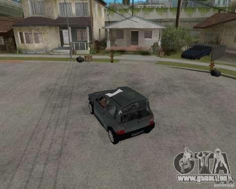Fiat Mille Fire 1.0 2006 pour GTA San Andreas salon