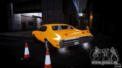 Buick GSX 1970 für GTA 4 hinten links Ansicht