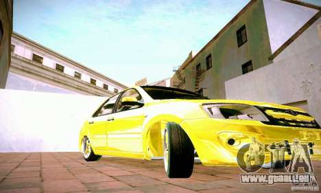 Lada Grant GOLD für GTA San Andreas Innenansicht