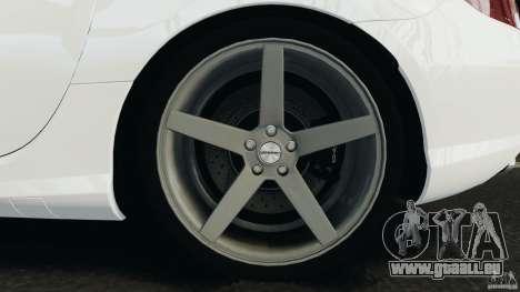Mercedes-Benz SLK 2012 v1.0 [RIV] pour GTA 4 vue de dessus