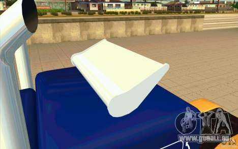 Peterbilt 359 Custom für GTA San Andreas Innenansicht