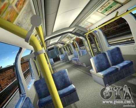 London-Zug für GTA 4 Sekunden Bildschirm