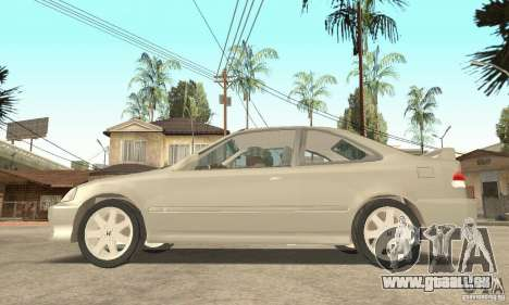 Honda Civic 1998 pour GTA San Andreas vue de droite