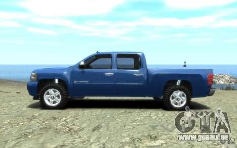 Chevrolet Silverado 2008 für GTA 4 rechte Ansicht