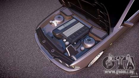 BMW 530I E39 stock white wheels pour GTA 4 est une vue de dessous