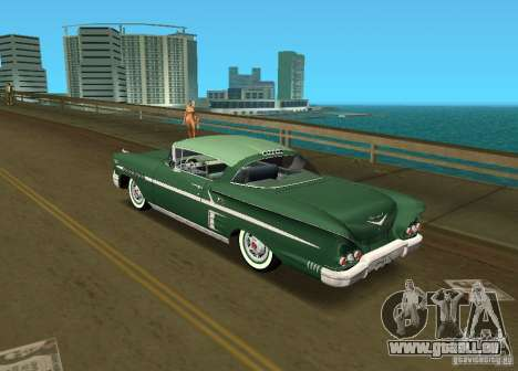 Chevrolet Impala 1958 pour une vue GTA Vice City de la gauche
