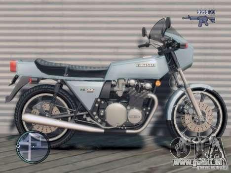 Kawasaki Z1-R für GTA 4 linke Ansicht