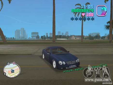 Mercedes-Benz E350 pour GTA Vice City