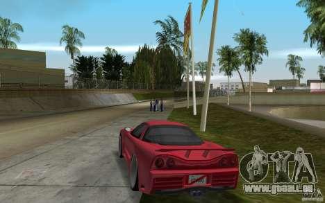 Acura NSX 2004 Veilside für GTA Vice City zurück linke Ansicht