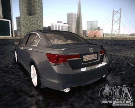 Honda Accord 2011 für GTA San Andreas linke Ansicht