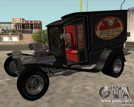 Ford model T 1923 Ice cream truck pour GTA San Andreas