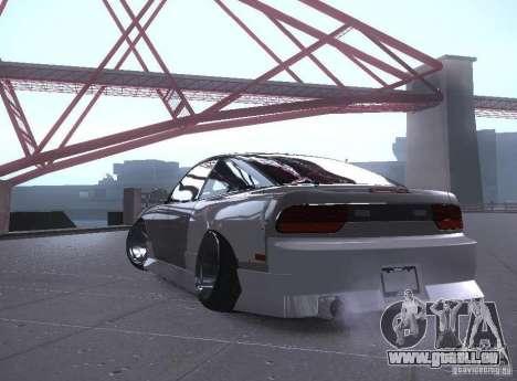 Nissan 240SX Tuned für GTA San Andreas linke Ansicht