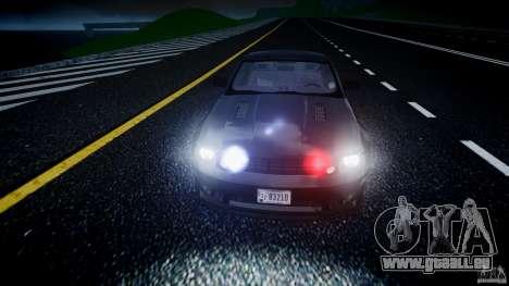 Saleen S281 Extreme Unmarked Police Car - v1.2 pour GTA 4 est une vue de dessous