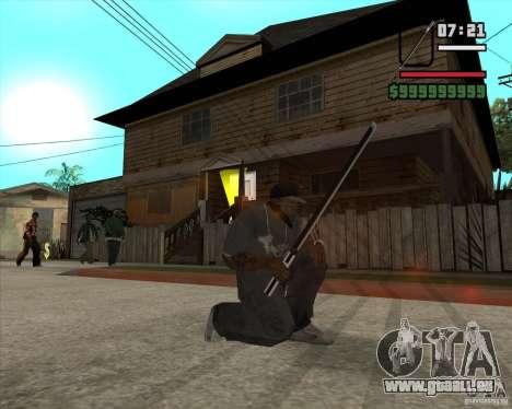 Sasuke sword pour GTA San Andreas