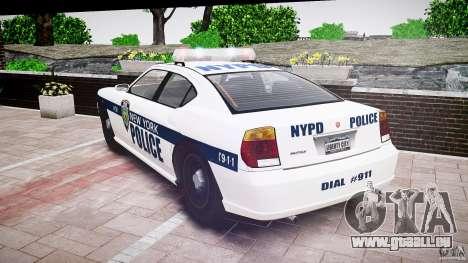 FIB Buffalo NYPD Police pour GTA 4 est un côté