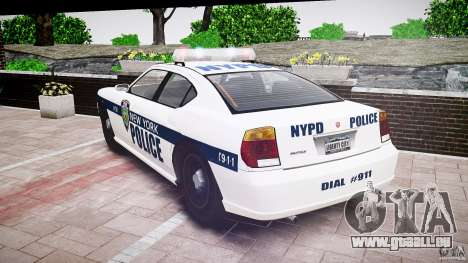 FIB Buffalo NYPD Police für GTA 4 Seitenansicht