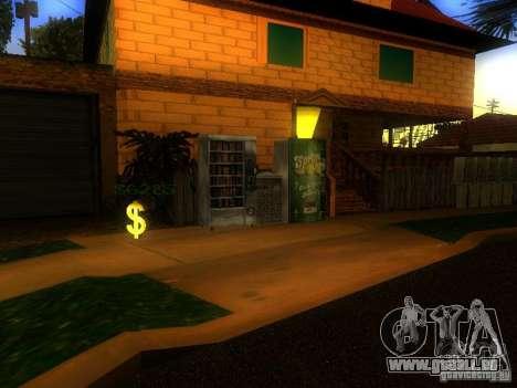 Base de Grove Street pour GTA San Andreas douzième écran