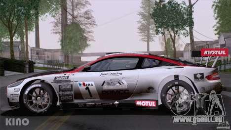 Aston Martin Racing DBRS9 GT3 für GTA San Andreas Unteransicht