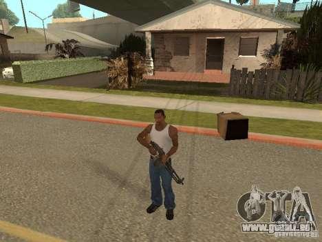 Leichtes Maschinengewehr Dâgterëva für GTA San Andreas fünften Screenshot