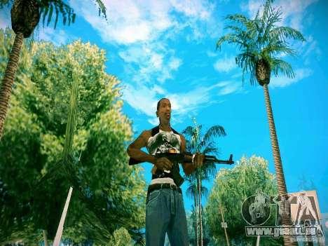 Armes Pack HD pour GTA San Andreas quatrième écran