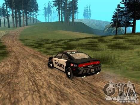 Dodge Charger Canadian Victoria Police 2011 für GTA San Andreas rechten Ansicht