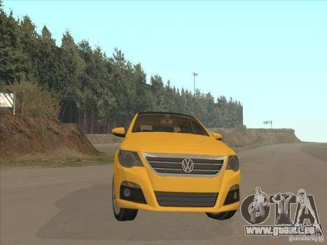 Volkswagen Passat CC pour GTA San Andreas vue arrière