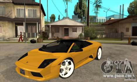 Lamborghini Murcielago Roadster Final für GTA San Andreas